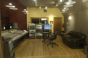 Here's the studio view of the control room